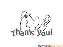 Thank You Ausmalbild Nashorn