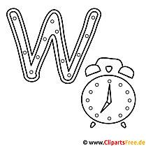 Watch - Englisch Alphabet