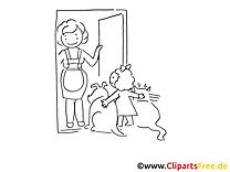 Haustiere Malvorlagen kostenlos