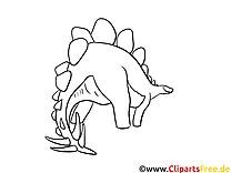 Wandschablonen zum Ausdrucken Dino