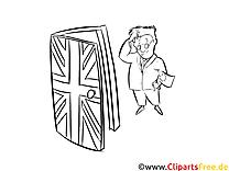 Brexit Zeichnung Malvorlage