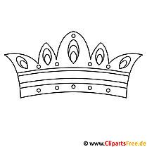 Krone Ausmalbild