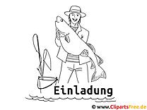 Fischer Ausmalbild Zum Ausmalen