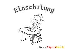 Malvorlagen Schulanfang, Schule