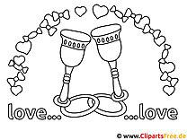 Verlobung Malvorlagen und kostenlose Ausmalbilder