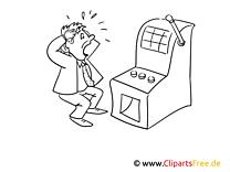 Automaten spielen in Casino Bilder zum Ausmalen