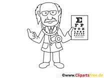 Augenarzt Malvorlagen
