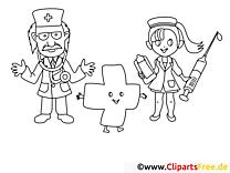 Krankenhaus Malvorlagen