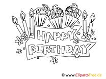 Kolorowanki Urodziny Malowanki
