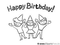 Malvorlage Geburtstag Papa