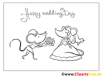 Maus Blumenstrauß Malvorlagen-GlБckwБnsche zur Hochzeit