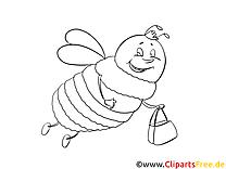 insekten ausmalbilder kostenlos zum ausdrucken