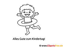 Kindertag Ausmalbilder