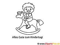 Kleine Kinder Vorlagen zum Ausmalen gratis ausdrucken