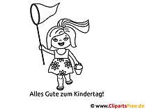 Malvorlagen Mädchen gratis