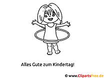 Malvorlagen zum Kindertag