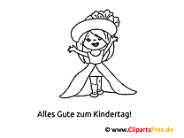 Children, Girls and Boys Coloring Page