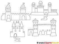 Burge Ausmalbilder zum Ausmalen