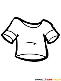 Shirt Bild zum Ausmalen