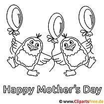 Karte zum Muttertag selbst basteln