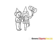 Geburtstag Malvorlagen und kostenlose Ausmalbilder