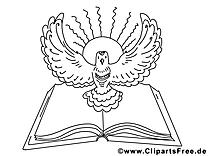 Religion Pfingsten Malbilder
