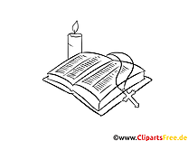 Taufbuch Ausmalbilder für Kinder kostenlos ausdrucken