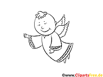 Taufe Malvorlagen kostenlos für Jung und Alt