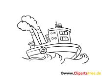 Schiffe Ausmalbilder Kostenlos Zum Ausdrucken