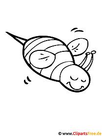 Biene Malvorlage - Sommer Malvorlagen