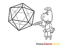 Malvorlage Geometrische Figuren
