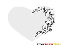 Blumenranke, Blüten filigran, Schnörkel Bilder zum Ausmalen und Ausdrucken
