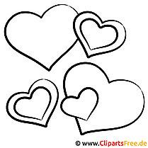 Herzen Malvorlage
