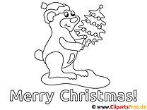 Bilder zu Weihnachten zum Ausmalen