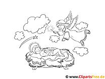 Engel Bilder zum Ausmalen