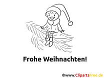Frohe Weihnachten Mal Vorlagen
