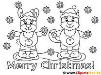 Ausmalbilder Weihnachten Ausdrucken.Weihnachten Malvorlagen Kostenlos Zum Ausdrucken